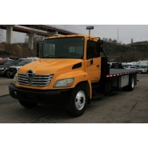 2007 Hino 268A 24' Flatbed #20953